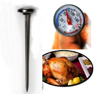 Meat Thermometer Chicken Turkey Poultry Probe Baking